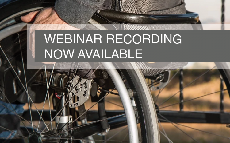 Webinar 2 recording is now available