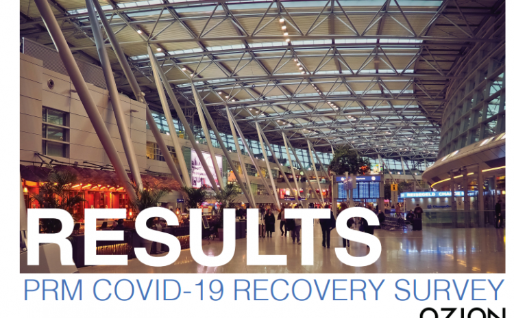 Survey Results: PRM COVID-19 IMPACT AND RECOVERY
