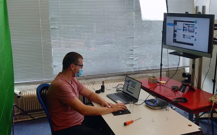 Ozion Trainer Yann Prepares for Virtual User Training